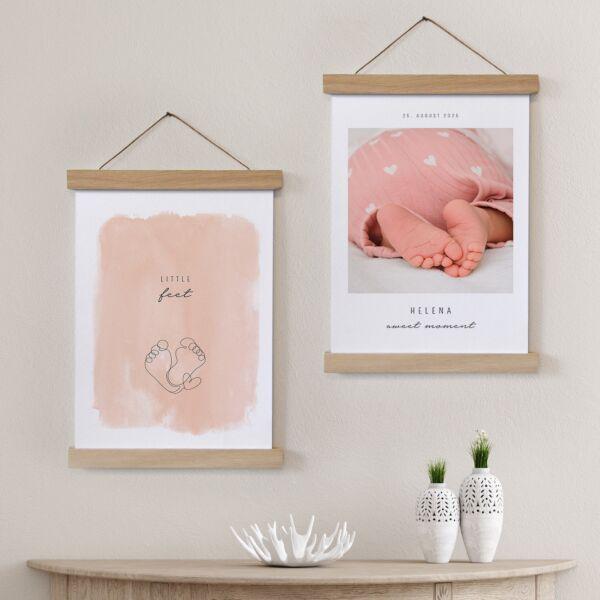 Poster Duo Little Feet